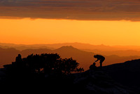 Windy Point overlook at sunset, Mount Lemmon, Arizona