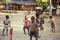 Children playing, Beza Mahafaly Special Reserve, southwestern Madagascar