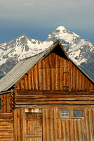 Moulton Barn, Antelope Flats, Grand Teton National Park, Wyoming